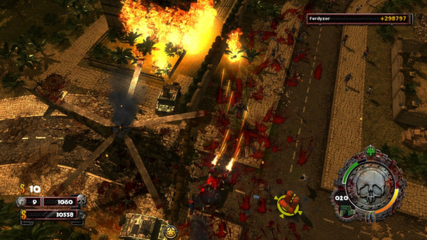 Zombie Driver HD Burning Garden of Slaughter (DLC)