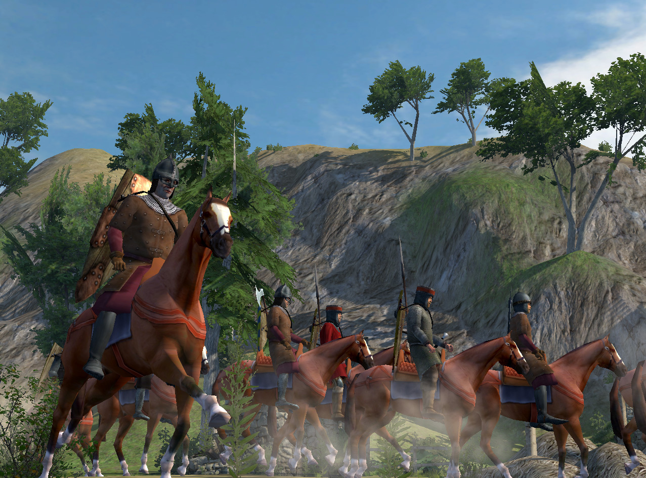 mount and blade warband best weapon for horseback