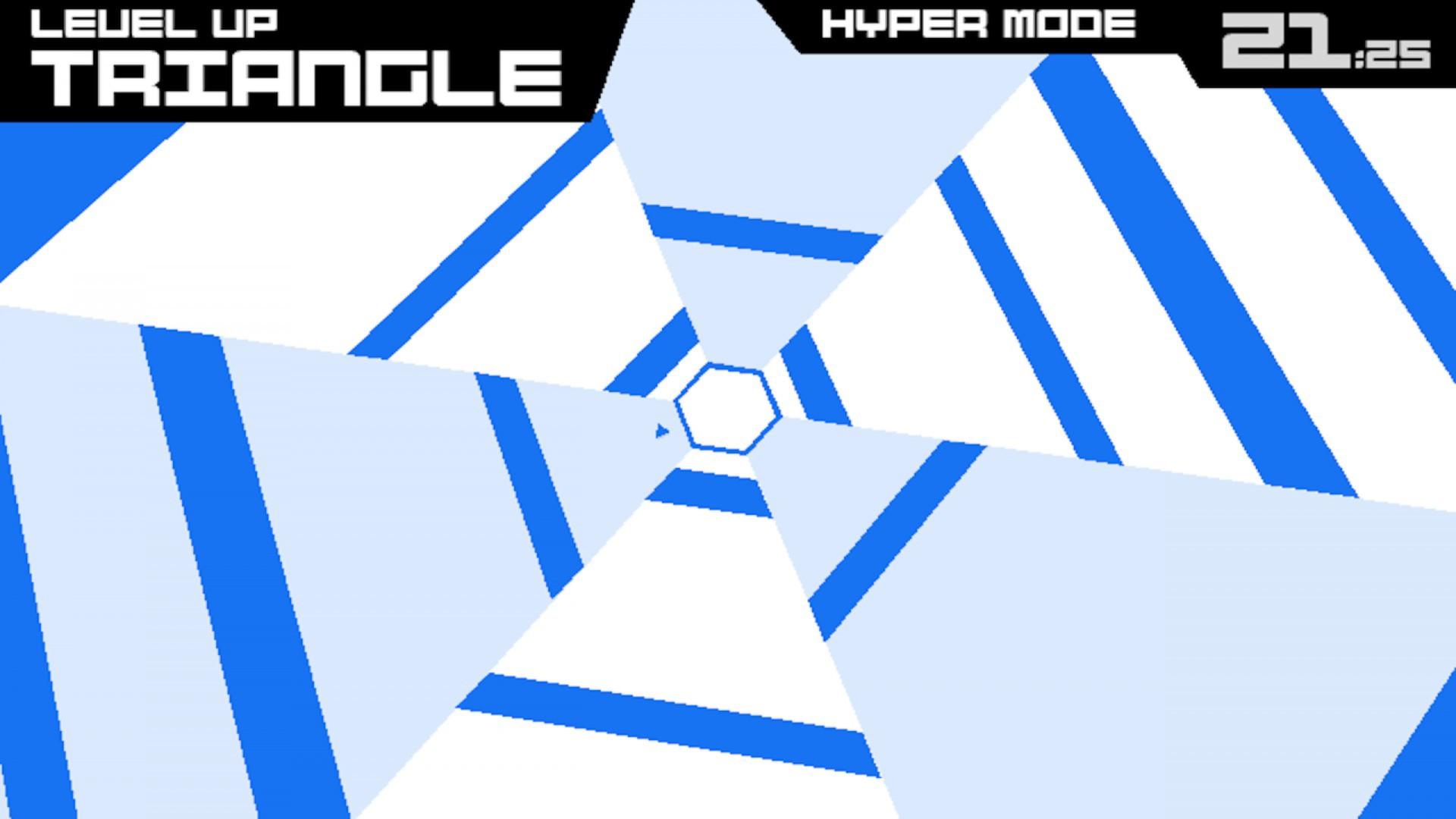 Super Hexagon screenshot 1
