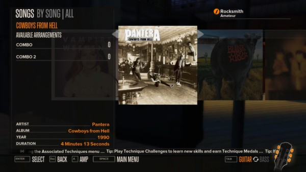 Rocksmith - Pantera - Cowboys From Hell (DLC)