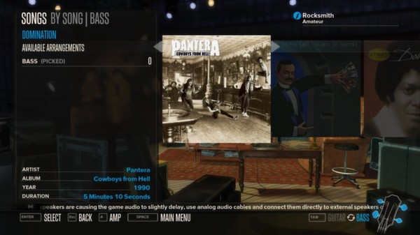 Rocksmith - Pantera - Domination (DLC)