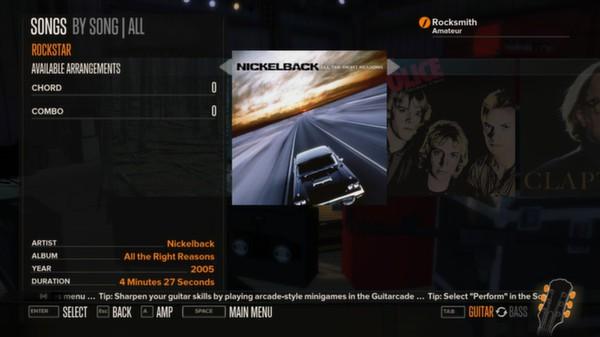 Rocksmith - Nickelback - Rockstar (DLC)
