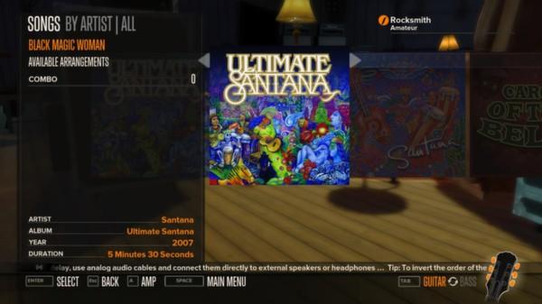 Rocksmith - Santana - Black Magic Woman (DLC)