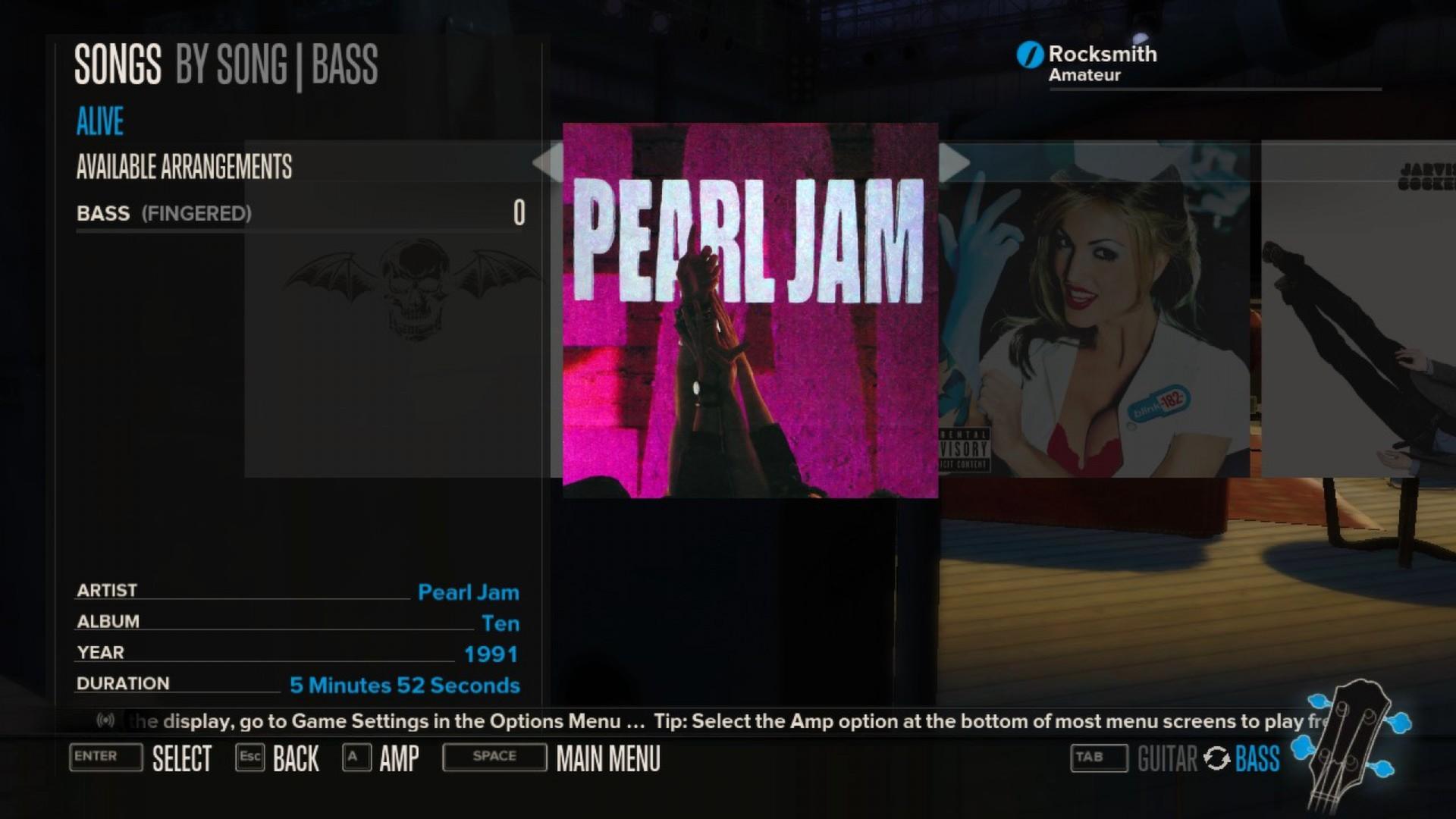 Rocksmith - Pearl Jam - Alive