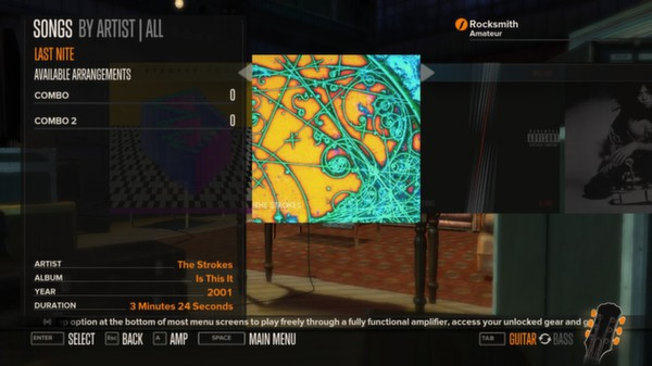 Rocksmith - The Strokes - Last Nite (DLC)