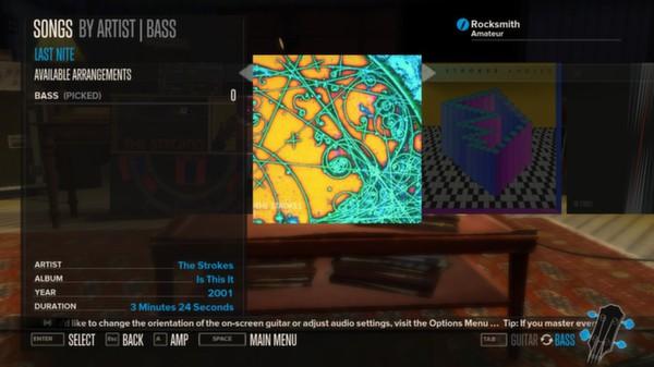 Rocksmith - The Strokes - Last Nite (DLC)