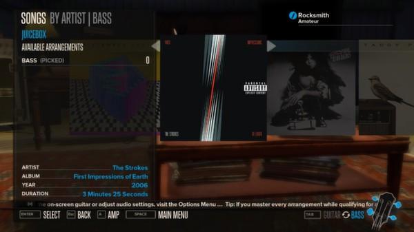 Rocksmith - The Strokes - Juicebox (DLC)