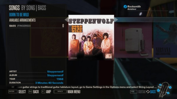 Rocksmith - Steppenwolf - Born to be Wild (DLC)