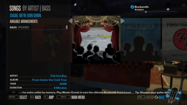 Rocksmith - Fall Out Boy - Sugar, We're Goin Down (DLC)