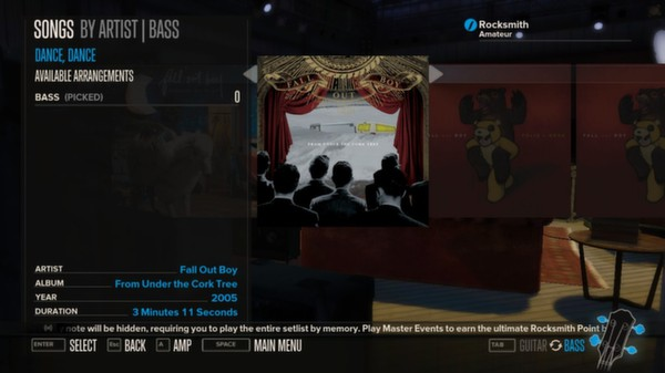 Rocksmith - Fall Out Boy - Dance, Dance (DLC)