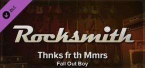 Rocksmith - Fall Out Boy - Thnks fr th Mmrs