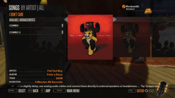 Rocksmith - Fall Out Boy Song-Pack (DLC)