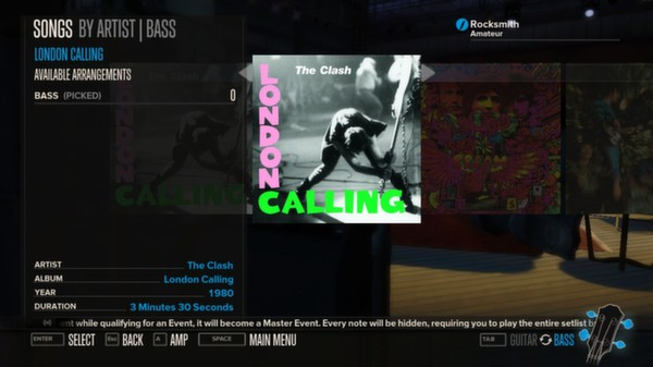 Rocksmith - The Clash - London Calling (DLC)