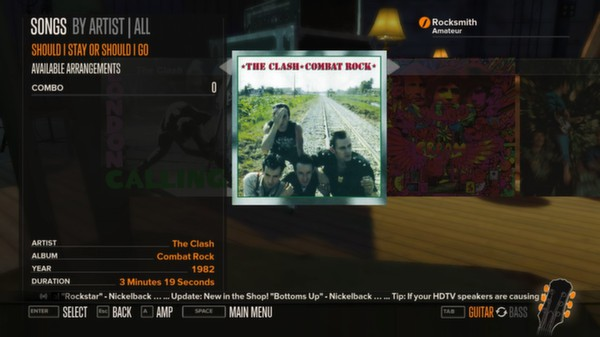 Rocksmith - The Clash - Should I Stay or Should I Go (DLC)