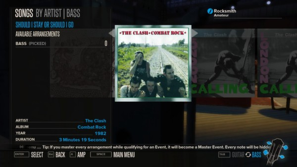 Rocksmith - The Clash - Should I Stay or Should I Go (DLC)