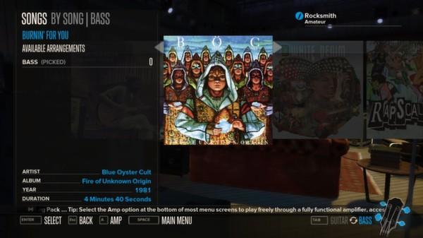 Rocksmith - Blue Oyster Cult - Burnin' for You (DLC)