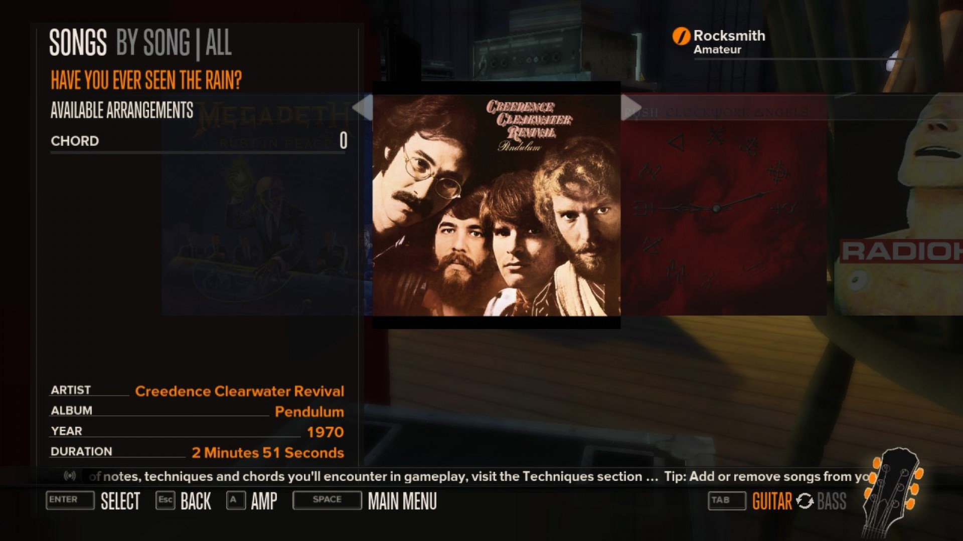 Rocksmith: Creedence Clearwater Revival - Have You Ever Seen the Rain? 2013 pc game Img-1