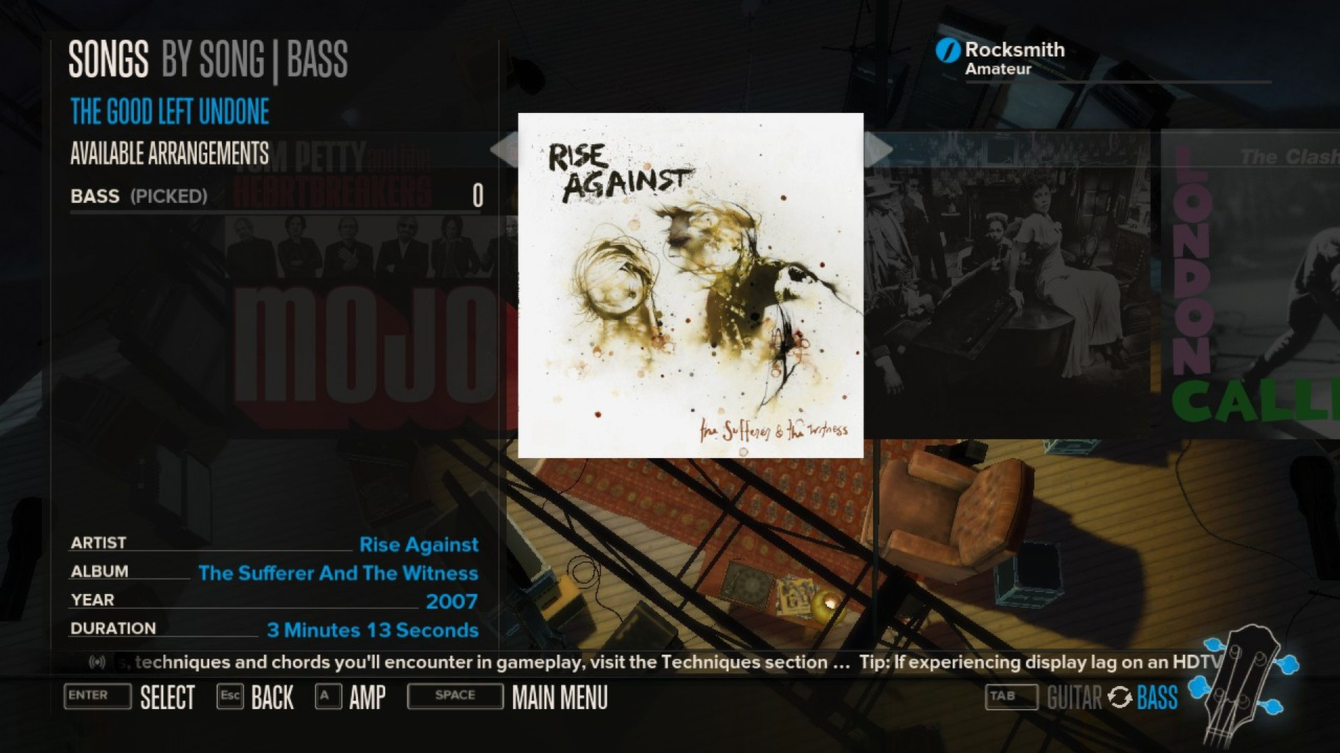 Rocksmith Rise Against The Good Left Undone On Steam