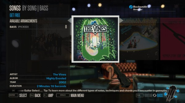 Rocksmith - The Vines - Get Free (DLC)