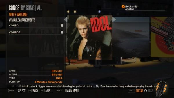 Rocksmith - Billy Idol - White Wedding (Part 1) (DLC)