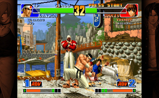 Screenshot of THE KING OF FIGHTERS '98 ULTIMATE MATCH FINAL EDITION