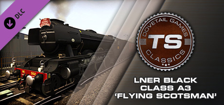 LNER Black Class A3 'Flying Scotsman' Loco Add-On