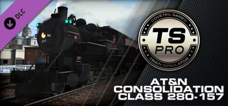 Train Simulator: AT&N Consolidation Class 280-157 Loco Add-On