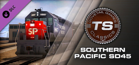 Southern Pacific SD45 Loco Add-On