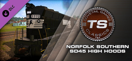 Norfolk Southern SD45 High Hoods Loco Add-On