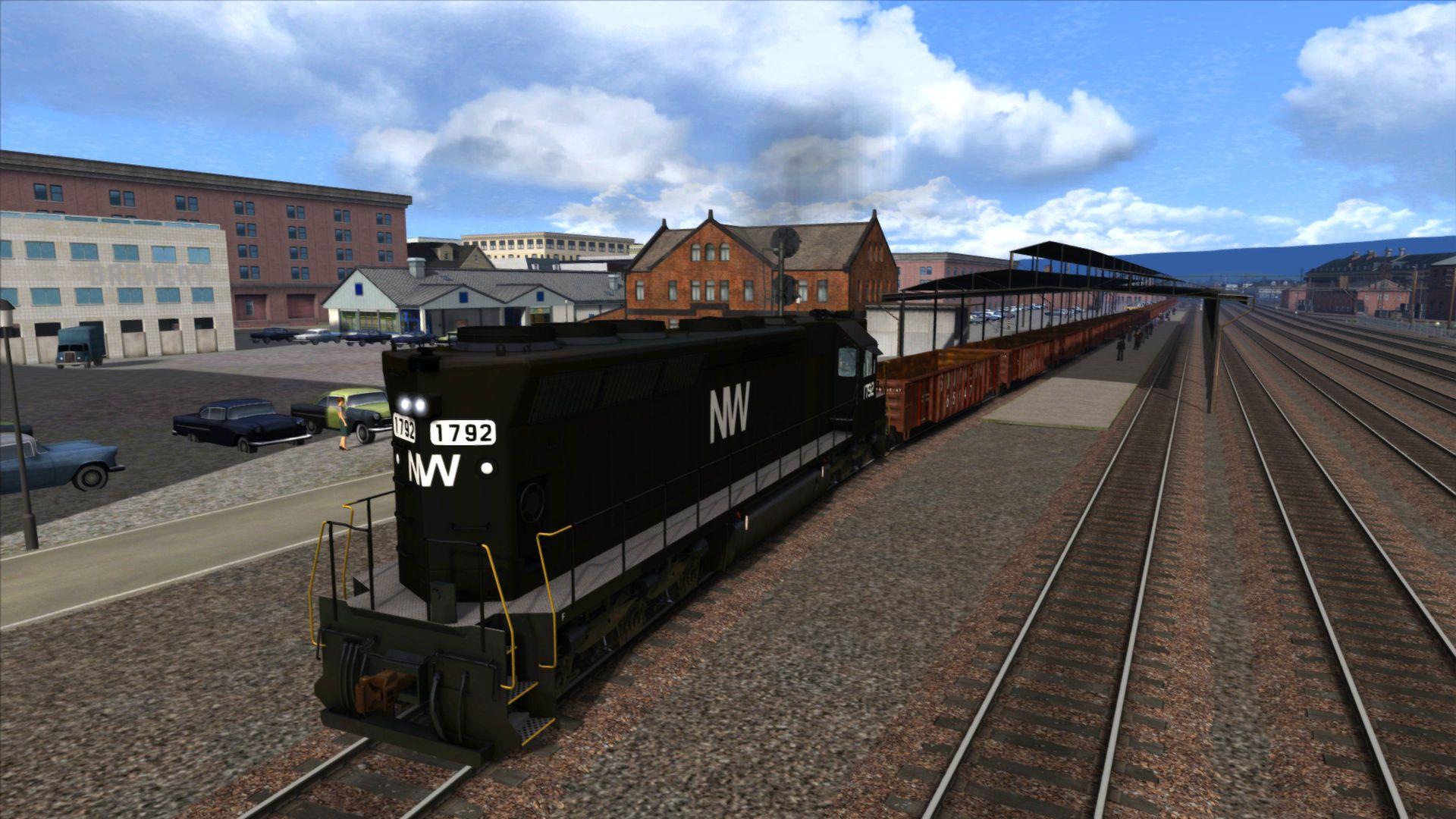 KHAiHOM.com - Train Simulator: Norfolk Southern SD45 High Hoods Loco Add-On