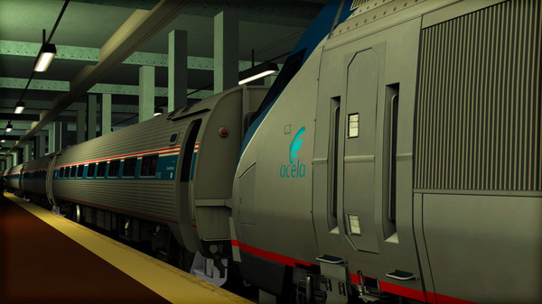 скриншот Amtrak HHP-8 Loco Add-On 4
