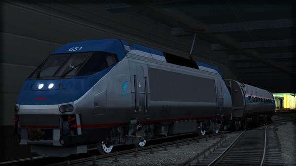 скриншот Amtrak HHP-8 Loco Add-On 2