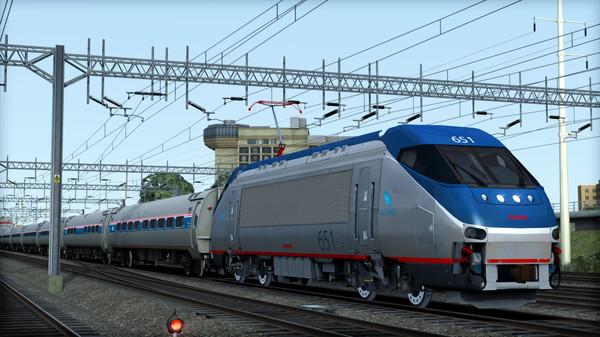 скриншот Amtrak HHP-8 Loco Add-On 5