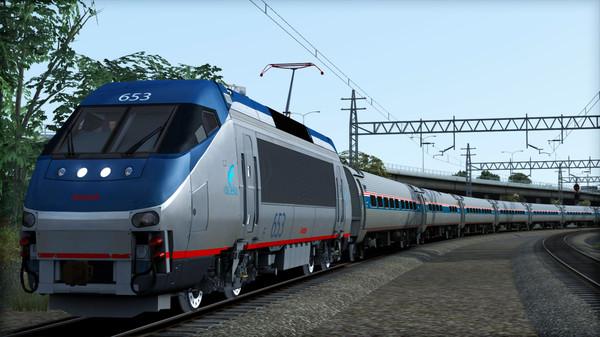 скриншот Amtrak HHP-8 Loco Add-On 0