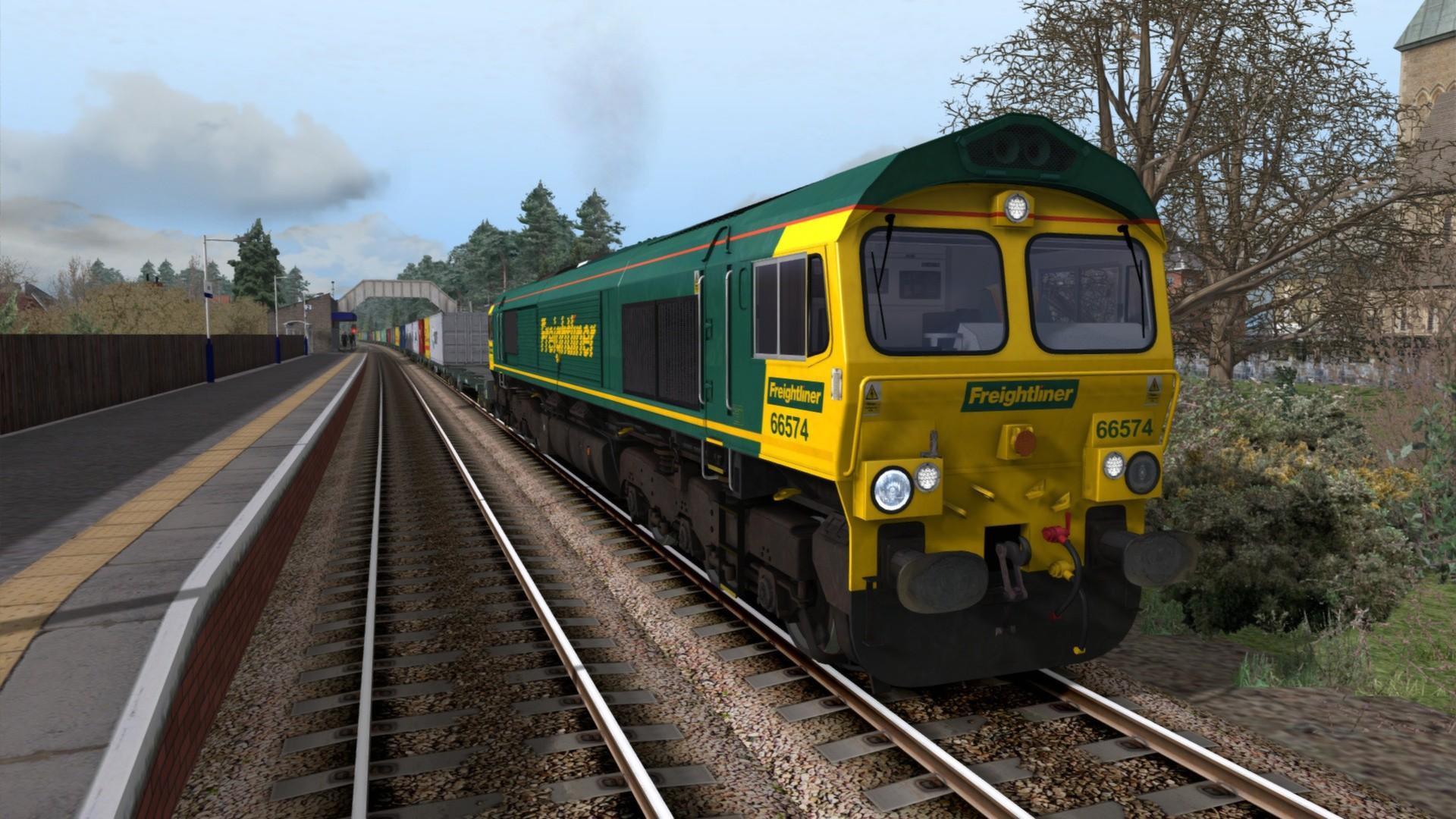 Train Simulator: Freightliner Class 66 v2 0 Loco Add-On