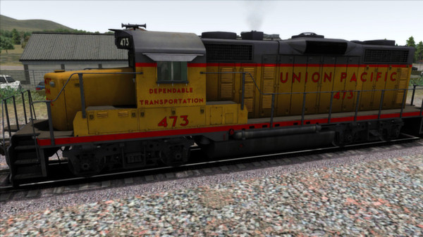 скриншот GP20 Union Pacific Add-on Livery 2