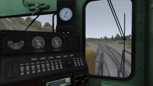 скриншот GP20 Burlington Northern Add-on Livery 1