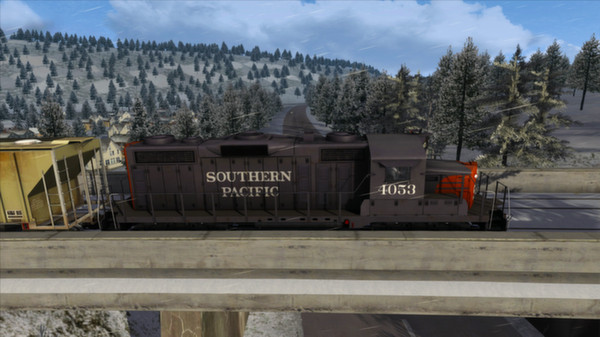 Southern Pacific GP20 Loco Add-On