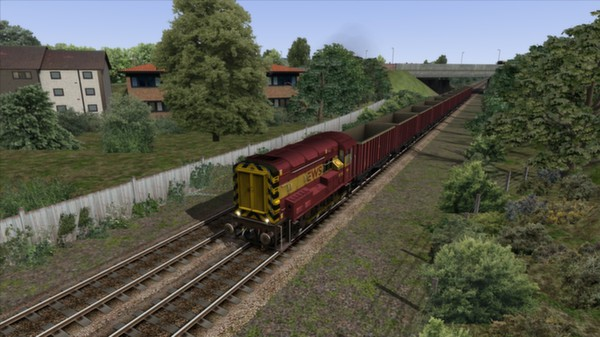 скриншот EWS & Freightliner Class 08s Loco Add-On 1