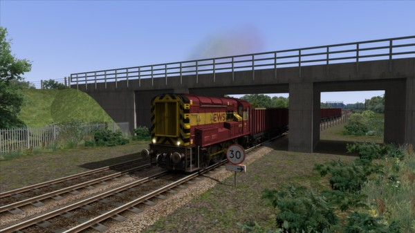 скриншот EWS & Freightliner Class 08s Loco Add-On 0