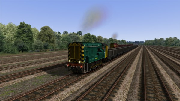 скриншот EWS & Freightliner Class 08s Loco Add-On 2