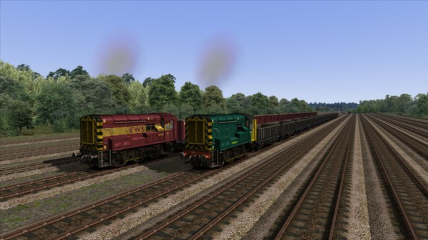 скриншот EWS & Freightliner Class 08s Loco Add-On 3