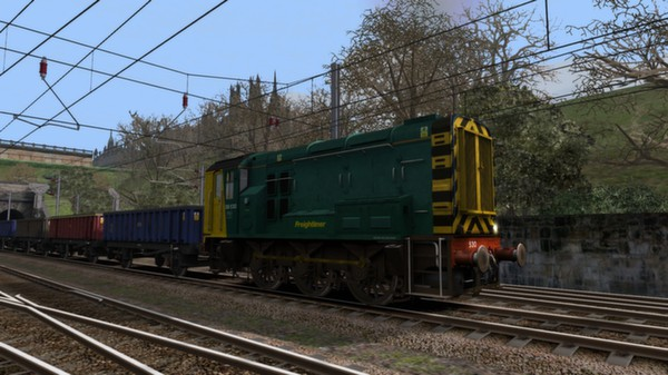 скриншот EWS & Freightliner Class 08s Loco Add-On 5
