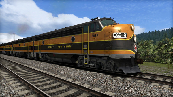 скриншот Great Northern F7 'Empire Builder' Loco Add-On 4