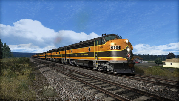 скриншот Great Northern F7 'Empire Builder' Loco Add-On 2