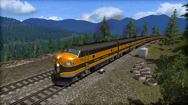 скриншот Great Northern F7 'Empire Builder' Loco Add-On 5