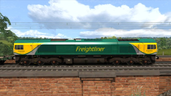 скриншот Powerhaul Class 66 V2.0 Loco Add-On 2