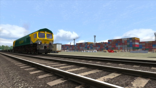 скриншот Powerhaul Class 66 V2.0 Loco Add-On 1
