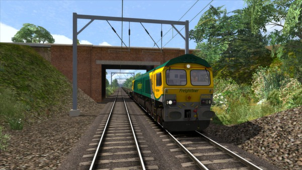 скриншот Powerhaul Class 66 V2.0 Loco Add-On 0
