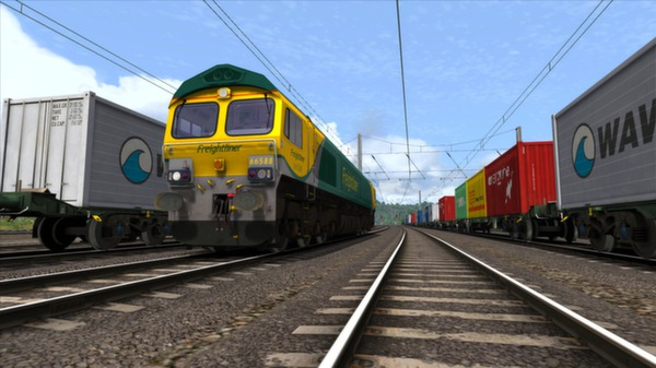 скриншот Powerhaul Class 66 V2.0 Loco Add-On 5